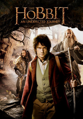 Netflix box art for The Hobbit: An Unexpected Journey