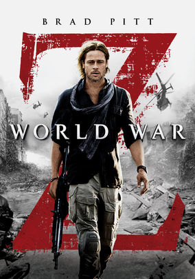 Netflix Box Art for World War Z