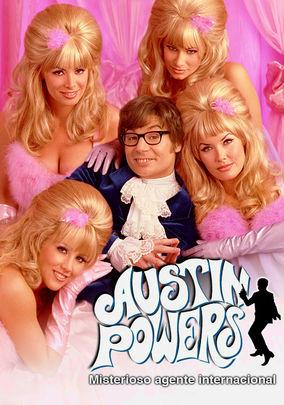 Netflix box art for Austin Powers: Int'l Man of Mystery