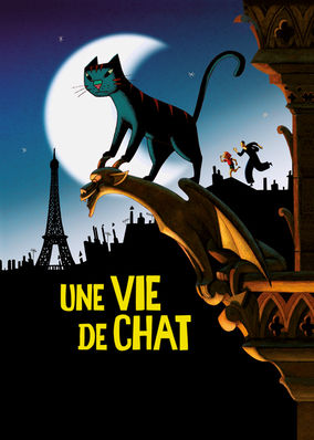 Netflix box art for A Cat in Paris