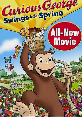 Netflix Box Art for Curious George: Swings Into Spring