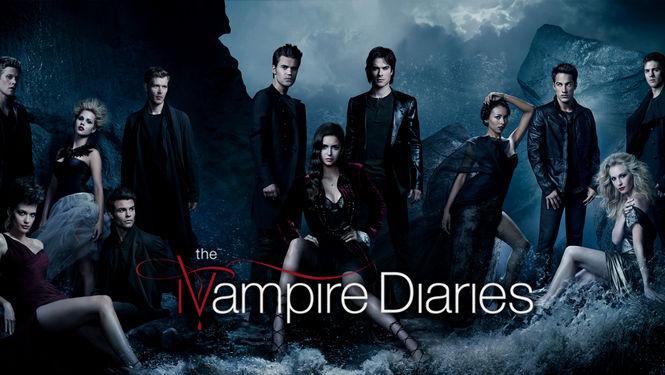 Vampire Diaries Netflix Poster Netflix