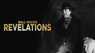 Netflix box art for Bill Hicks: Revelations