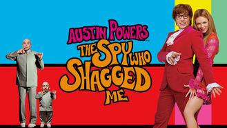 Netflix box art for Austin Powers: The Spy Who Shagged Me
