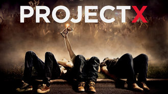 Project X (2012) on Netflix in the Netherlands