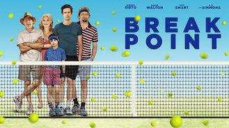 Netflix box art for Break Point