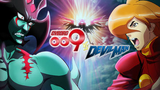 Netflix box art for Cyborg 009 VS Devilman - Season 1